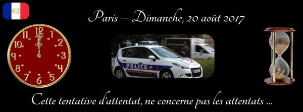 Paris : un véhicule fonce sur la police …