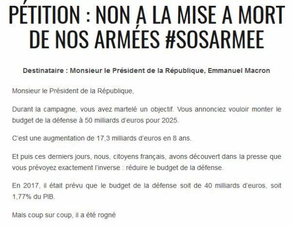 France août 2017 Une guerre perdue d'avance … suite
