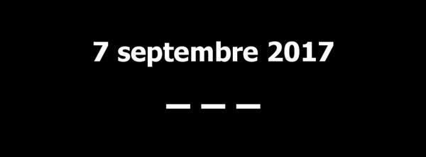 7 septembre 2017