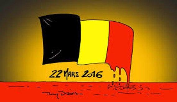 März 2016, ein Medium hat der Terroranschlag auf die Stadt Brüssel vorhersagte ...