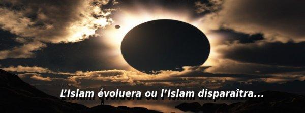 L'Islam évoluera ou l'Islam disparaîtra…