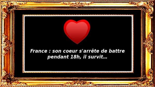 France : son coeur s'arrête de battre pendant 18h, il survit…