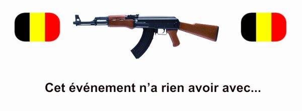 Bruxelles : Un homme ouvre le feu à l'arme de guerre sur un restaurant…