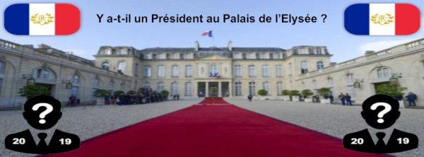 Y a-t-il un Président au Palais de l'Elysée ?
