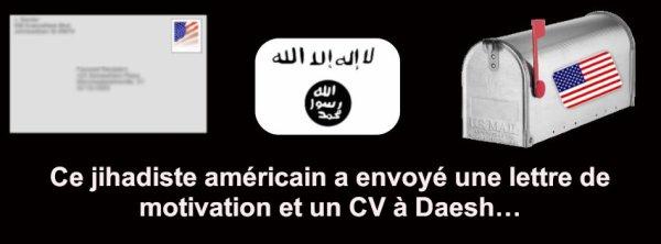 Lettre de motivation et un CV à Daesh…