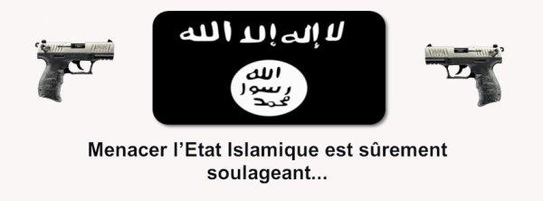 Menacer l'Etat Islamique…