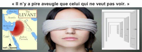 Il n'y a pire aveugle que celui qui ne veut pas voir...
