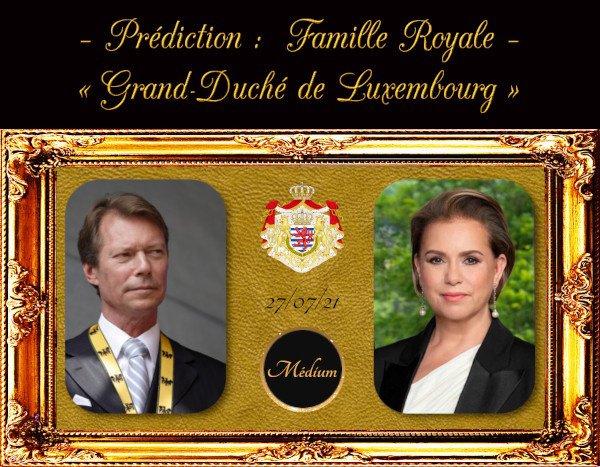Prédiction : « Famille Royale du Luxembourg »