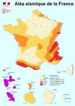 Les Seismes et la France