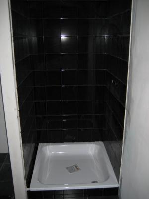Fa ence salle de douche termin e le nouveau nid d 39 amour for Faience de douche