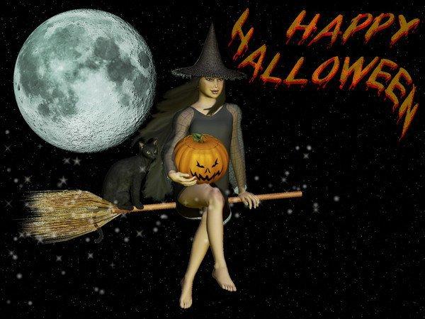 Joyeux Halloween à tout le monde !