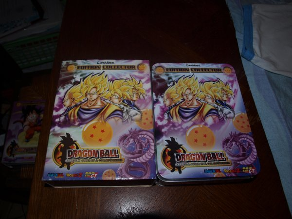 Tin Box 2008 Dragon Ball Standard