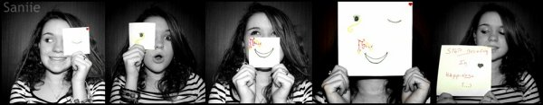 Stop believing in happiness ( . . ) ♥