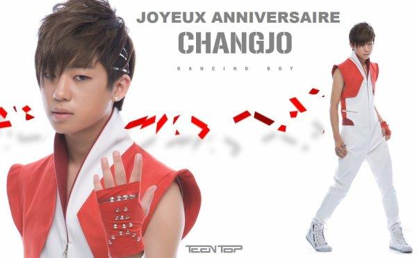 Saengil chukha hamnida Chang Jo