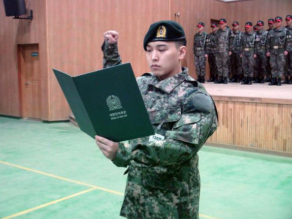 Mes bias à l'armée
