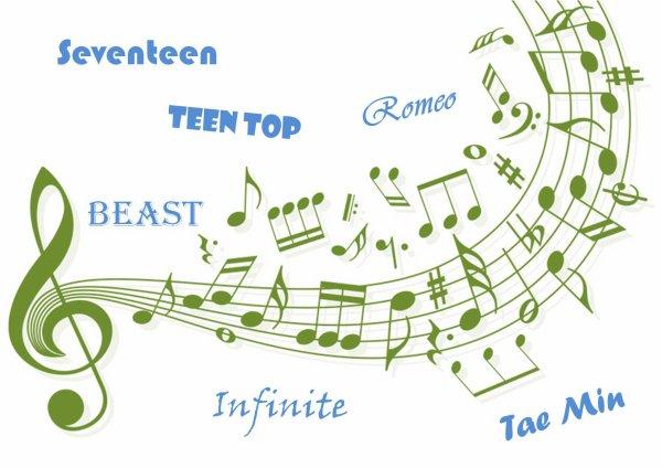 Les dernières musiques que j'ai aimé