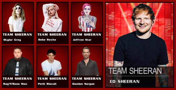 #TeamSHEERAN (The Voice)