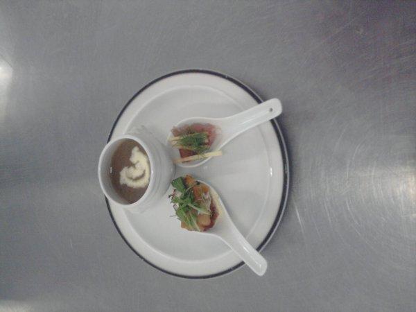 plat prépare par les éleve de5/6 année