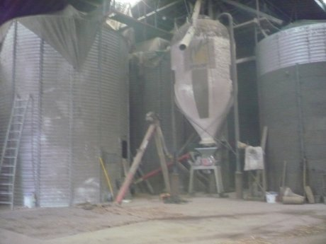 Chargement de Grain avant livraison a la coopérative