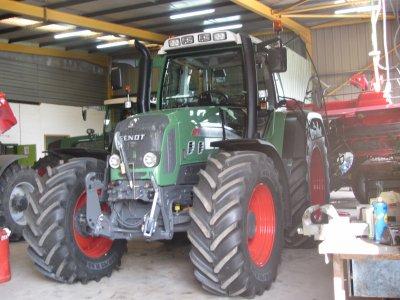 Arrivée de notre nouveau tracteur : Un Fendt Vario 820