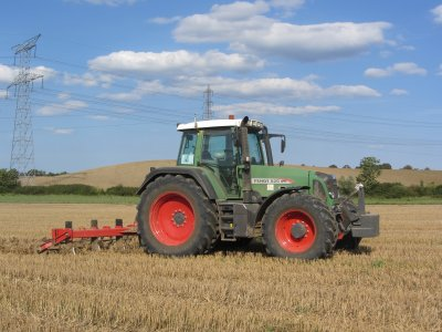 décompactage des sols avec le nouveau fendt 820