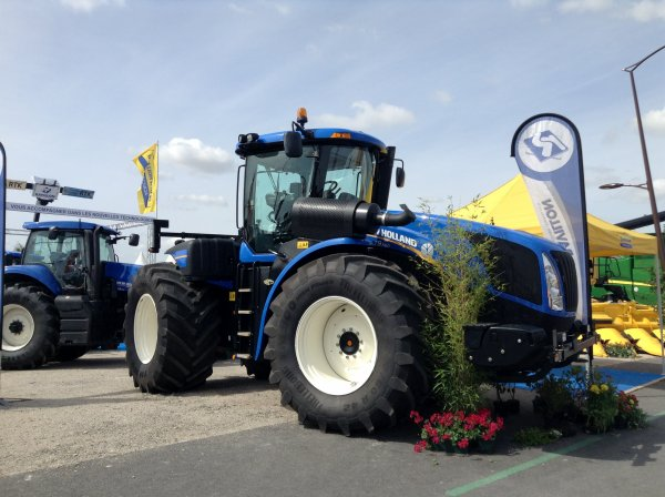 Foire de Chalons 2013 ! Stand New Holland