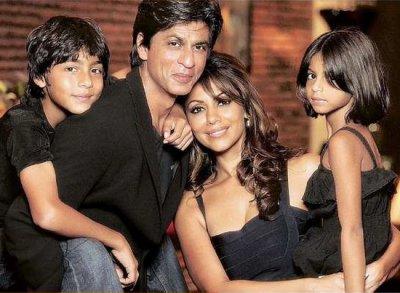 shahrukh khan et sa famille