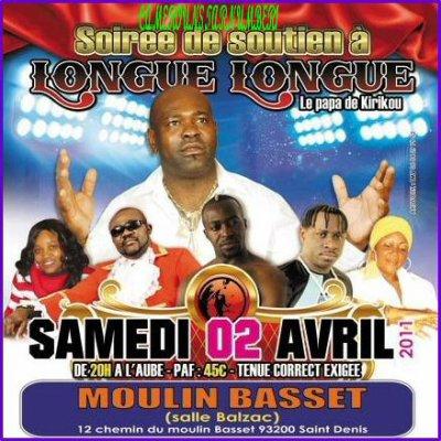Concert de soutien de Longué Longué le 2 avril en région parisienne. Interview de l'artiste