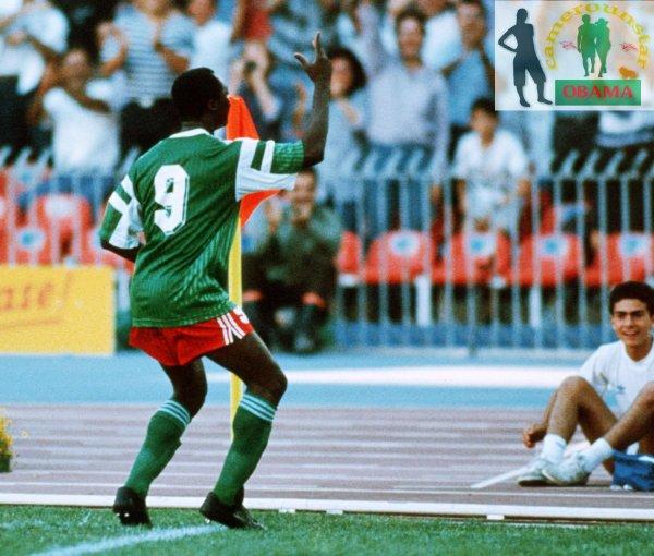 Sondage: La danse de Milla au poteau de corner, plébiscitée meilleur moment à la coupe du monde 1990