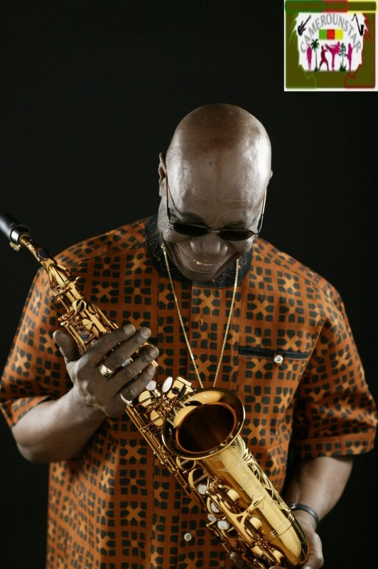Manu Dibango, artiste camerounais