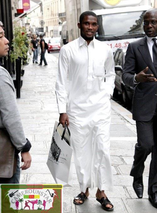 Samuel Eto'o n'a que 27 ans !