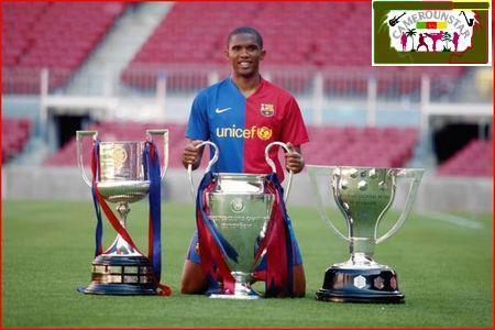 Eto'o est entré dans l'histoire récente du Barça comme 'le león indomable', l'avant-centre qui ne se rendait jamais.