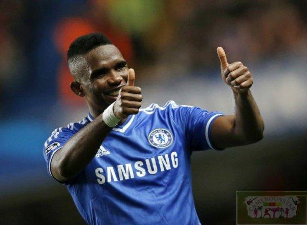 Samuel Eto'o félicite Demba Ba