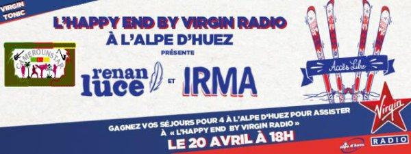 Renan Luce et Irma en showcase gratuit à l'Alpe d'Huez dimanche 20 avril 2014