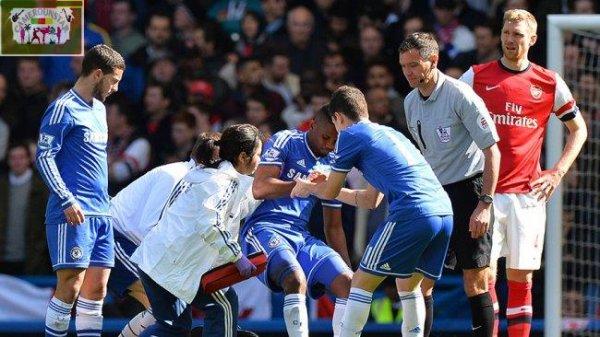 Chelsea : Eto'o forfait à Madrid
