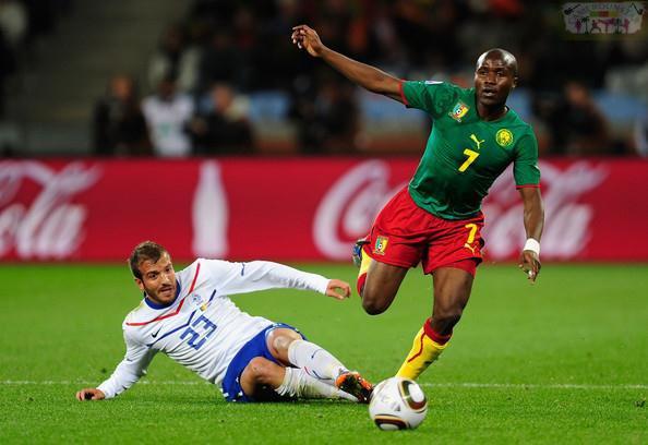 Landry N'Guemo sélectionné avec le Cameroun Landry N'Guemo sélectionné avec le Cameroun