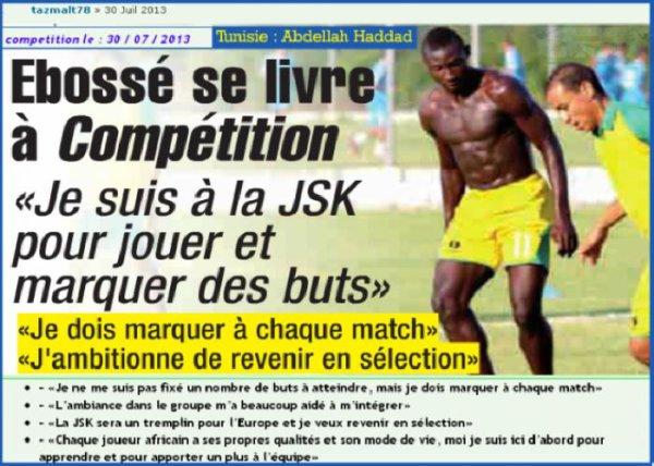 Le Cameroun pleure Ebossé