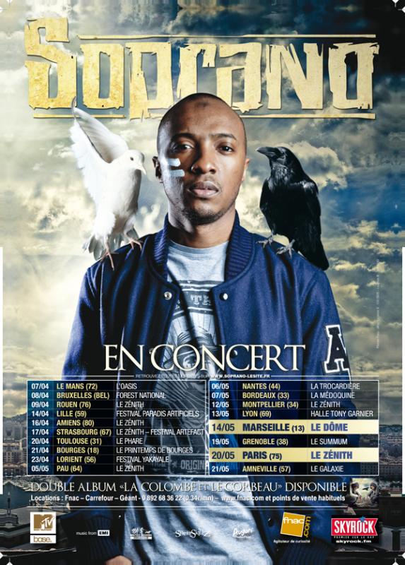 """LA COLOMBE & LE CORBEAU TOUR"""