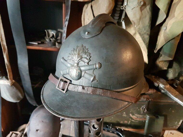 Adrian mdl 15 du 156ème régiment d'artillerie à pied