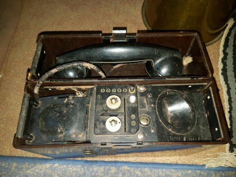 Téléphone de campagne all 41 avec combiné us de prise