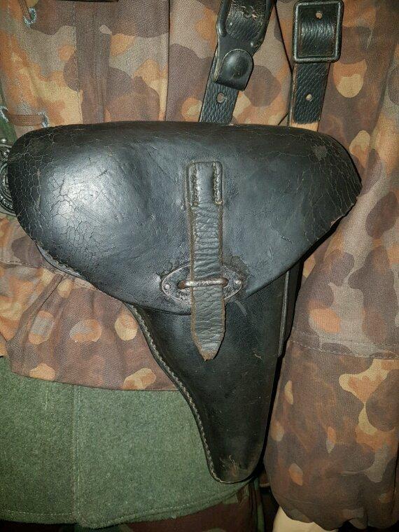 Holster p38 avec quasi arme