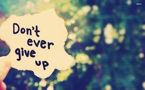 N'abandonne pas!