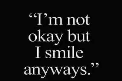 || I'm okay but...