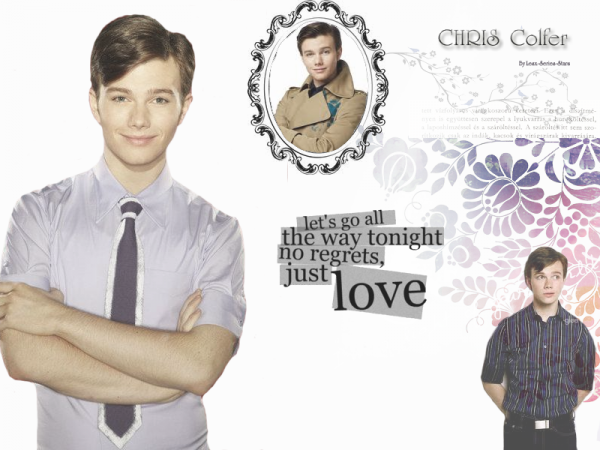 Zoom Sur Chris Colfer