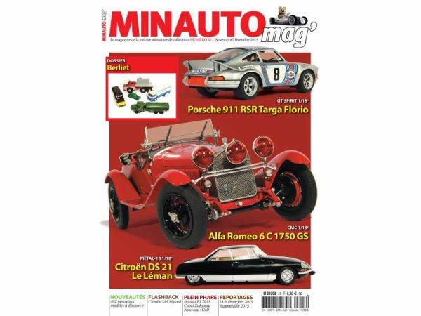 Le n°47 de MINAUTO MAG' edition Novembre/Décembre 2015