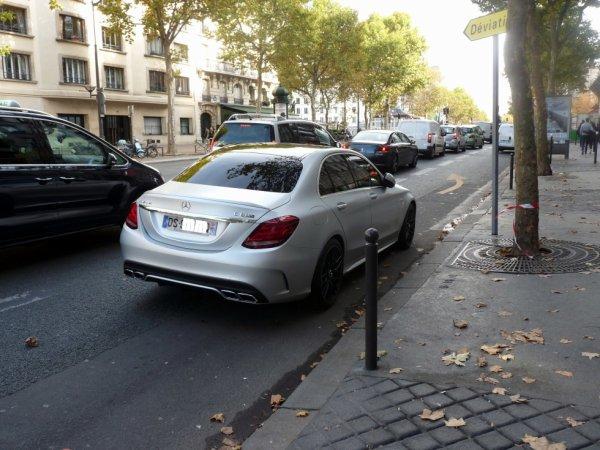 Mercedes c 63s amg