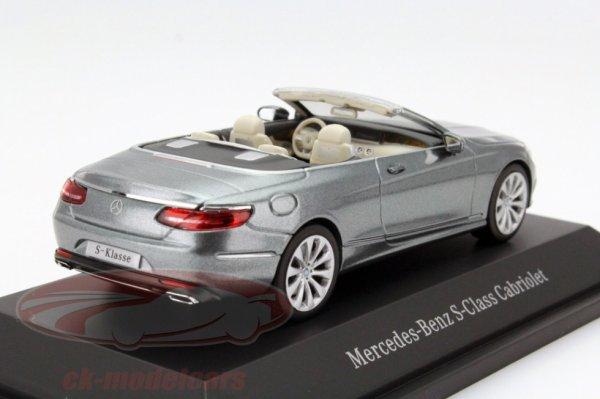 Mercedes s cabriolet 2015 1/43 Shuco