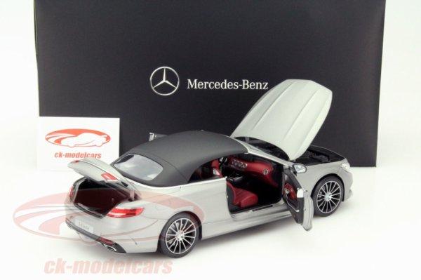 Mercedes s cabriolet 2015 1/18 Norev 89.95¤