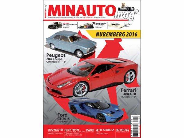 Minauto Mag' n°49 Mars/Avril 2016 Spécial Nuremberg 2016