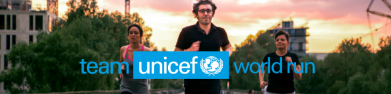 Participer à la Team UNICEF World Run